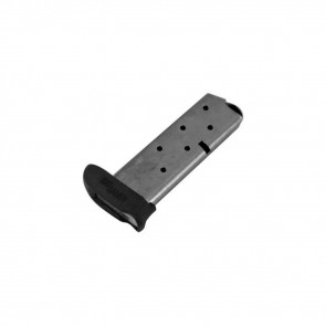 P238 SIG FACTORY MAGAZINE - .380 ACP, 7 ROUNDS, STAINLESS STEEL, EXTENDED FIT WITH PINKY FINGER FLOORPLATE