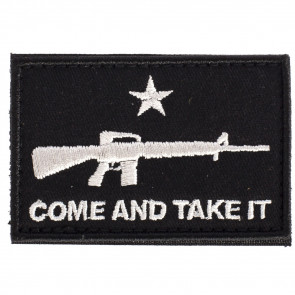 COME AND TAKE IT FLAG AR PATCH