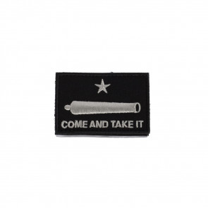 MORALE FLAG PATCH - COME & TAKE IT - CANNON