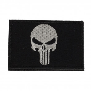 MORALE FLAG PATCH - PUNISHER PATCH, BLACK