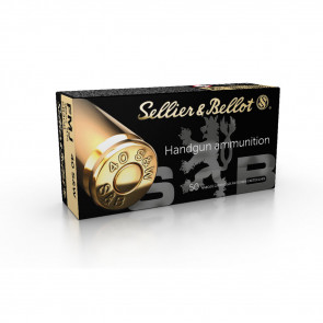 SELLIER & BELLOT HANDGUN AMMUNITION - 40 S&W - FMJ - 180 GR