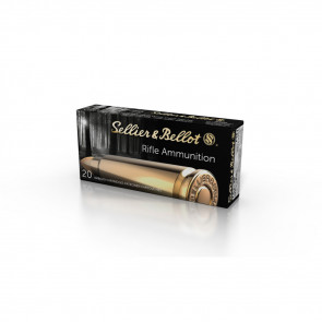 SELLIER & BELLOT RIFLE AMMUNITION - 7.62 X 39 - FMJ - 124 GR