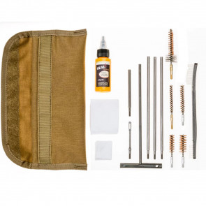UNIVERSAL GI FIELD CLEANING KIT - COYOTE BROWN