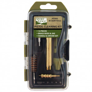 PISTOL CLEANING KIT - 14 PIECE - 45 CAL.