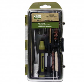 AR FIELD CLEANING KIT - 17 PIECE -.223/5.56