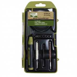 RIFLE CLEANING KIT - 12 PIECE - 22 CAL