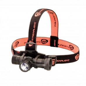 PROTAC HL USB HEADLAMP WITH USB CORD, ELASTIC AND RUBBER STRAPS - CLAM