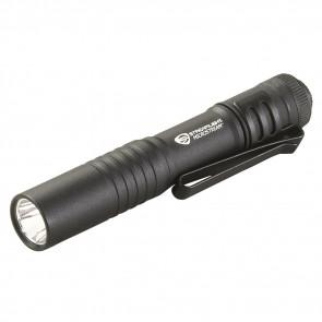 MICROSTREAM USB RECHARGEABLE, BRIGHT MINI LED FLASHLIGHT - 250 LUMENS -  BOX - BLACK