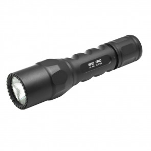 6PX TACTICAL FLASHLIGHT, LED, 320 LUMENS, BLACK