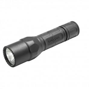 TACTICAL FLASHLIGHT, SINGLE OUTPUT LED, BLACK