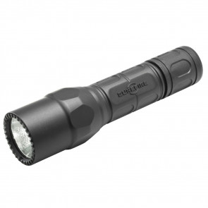 PRO FLASHLIGHT, DUAL OUTPUT, LED, BLACK