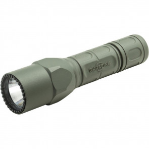 PRO FLASHLIGHT, DUAL OUTPUT, LED, FOREST GREEN