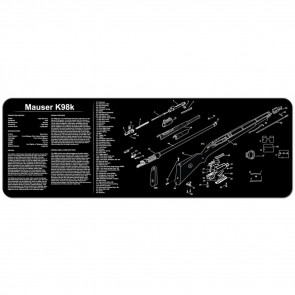 "MAUSER K98 CLEANING MAT - 12"" X 36"""
