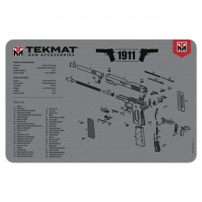 """1911 CLEANING MAT - 11"""" X 17"""" - GREY"""