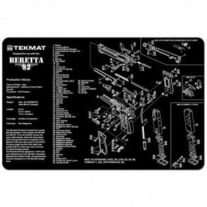 "BERETTA 92-M9 CLEANING MAT  - 11"" X 17"""