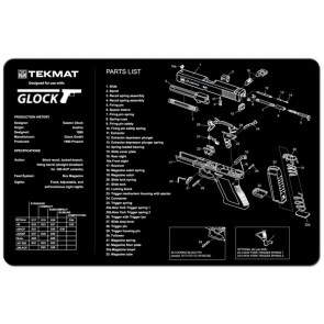 "GLOCK CLEANING MAT  - 11"" X 17"""