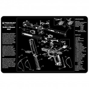 """SMITH & WESSON M&P CLEANING MAT - 11"""" X 17"""""""