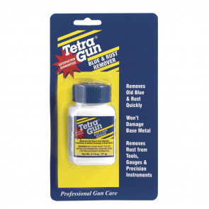 TETRA GUN BLUE AND RUST REMOVER - 2.7OZ - BLISTER PACK