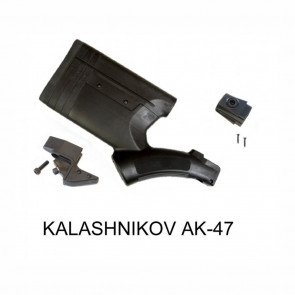 FRS-15 GEN III AK-47 ENHANCED STOCK KIT BUNDLE - BLACK