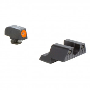 GLOCK HD NIGHT SIGHT SET - ORANGE FRONT OUTLINE MODEL 42/43