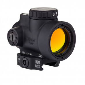 TRIJICON MRO - 2.0 MOA ADJUSTABLE GREEN DOT WITH LOW LEVERED QUICK RELEASE MOUNT