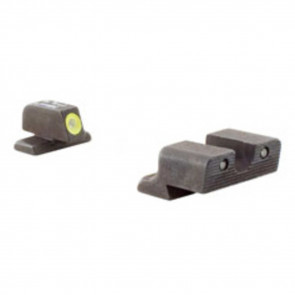 SPRINGFIELD XD HD NIGHT SIGHT SET - YELLOW FRONT OUTLINE