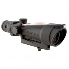ACOG 3.5X35 SCOPE, DUAL ILLUMINATED RED DONUT BAC RETICLE CALIBRATED FOR .308 (7.62MM) RIFLESCOPE