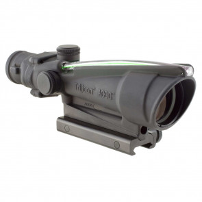 ACOG 3.5X35 SCOPE, DUAL ILLUMINATED GREEN CHEVRON BAC .223 FLATTOP RETICLE W/ TA51 MOUNT RIFLESCOPE