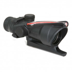 ACOG 4X32 SCOPE WITH RED DUAL ILLUMINATION DOUGHNUT RETICLE BAC-M16 / AR15 RIFLESCOPE