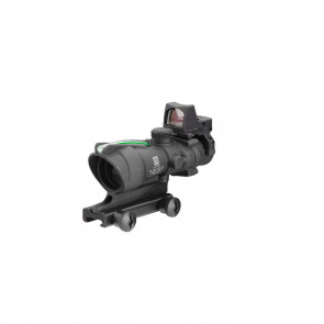 TRIJICON ACOG_ 4X32 SCOPE, DUAL ILLUMINATED GREEN CROSSHAIR .223 BALLISTIC RETICLE, 3.25 MOA RMR TYPE 2 SIGHT