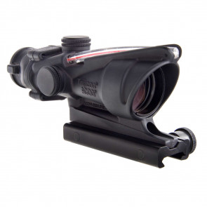 ACOG 4X32 SCOPE WITH RED HORSESHOE/DOT RETICLE AND M4 BDC W/ TA51 MOUNT RIFLESCOPE