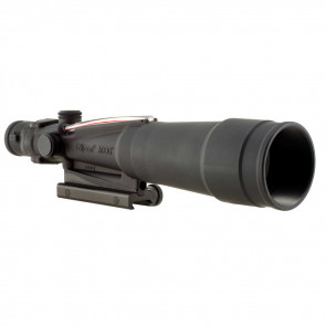 ACOG 5.5X50 RED CHEVRON BAC FLATTOP .223 RETICLE, INCLUDES FLAT TOP ADAPTER RIFLESCOPE
