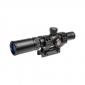 TRU BRITE 30 SERIES SCOPE 1-4X24MM DUPLEX MIL-DOT RETICLE 30MM TUBE - MATTE