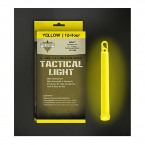 TAC 12 HR LIGHT STICK YELLOW 6 IN 10 PK