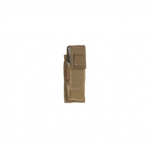 SINGLE PISTOL MAG POUCH FLAP COY SNG