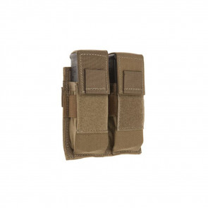 DOUBLE PISTOL MAG POUCH FLAPS COY DBL