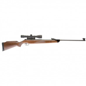 UMAREX RWS MODEL 350 MAGNUM .22 AIR RIFLE WITH 4X32 SCOPE