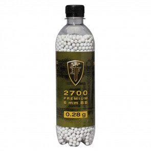 ELITE FORCE AIRSOFT BBS - 2700 COUNT, .28GR