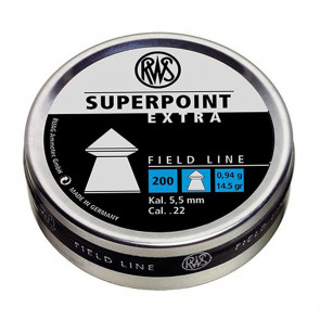 RWS PREM PLTS SUPERPT EXT .22 CAL 200CT