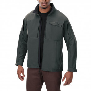 DOWNRANGE SOFT SHELL JACKET - GREY, 2XL