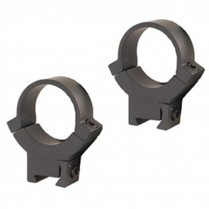 ALL STEEL .22 RIMFIRE RINGS - MATTE, HIGH, 1""