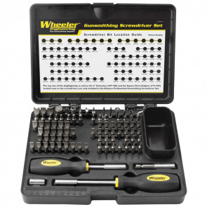 PROFESSIONAL GUNSMITH SCREWDRIVER SET - 89 PIECE