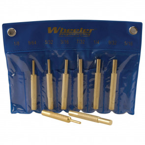 8-PIECE BRASS PUNCH SET