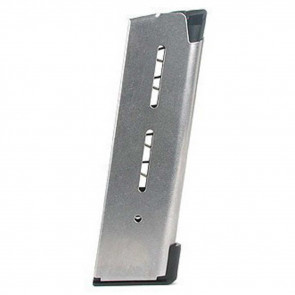 1911 MAGAZINE, .45 ACP - COMPACT - 8 ROUND - LO-PROFILE OM STEEL BASE PAD