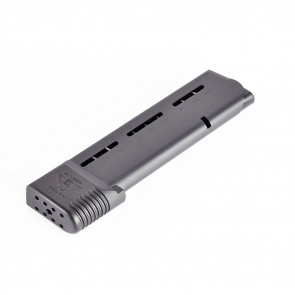 1911 ELITE TACTICAL MAGAZINE, .45 ACP, FULL-SIZE 10 ROUND, BLACK FLUOROPOLYMER FINISH WITH FEED RAILS AMMUNITION SYSTEM