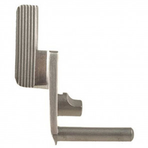 THUMB SAFETY, WIDE COMPETITION LEVER - STAINLESS