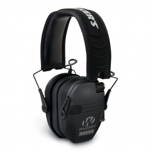 RAZOR SLIM LOW PROFILE ELECTRONIC EARMUFF - BLACK