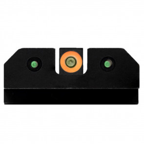 RAM NIGHT SIGHTS ORANGE - S&W M&P & M2.0 SHIELD