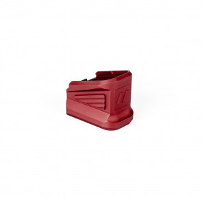 ZEV +5 BASEPAD FOR GLOCK MAGAZINE IN RED